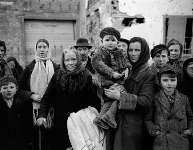 WWII Belgium Refugees