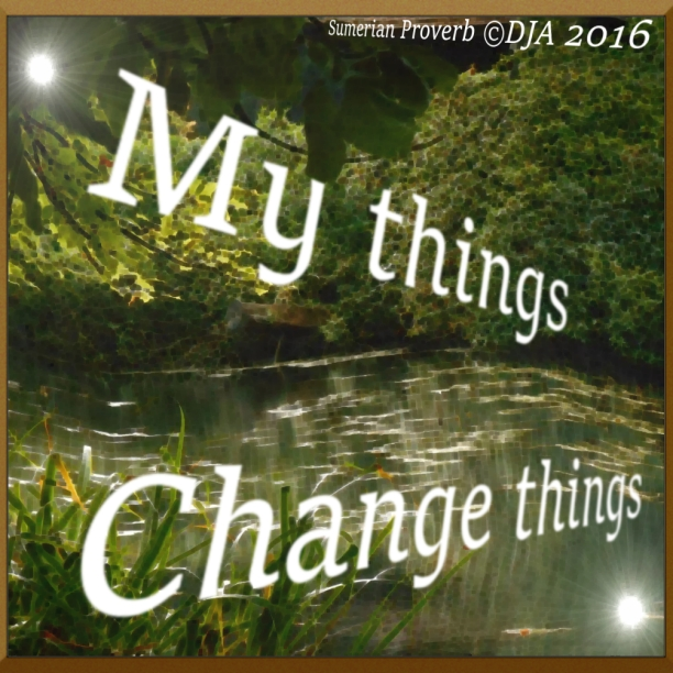 My Things Change Things